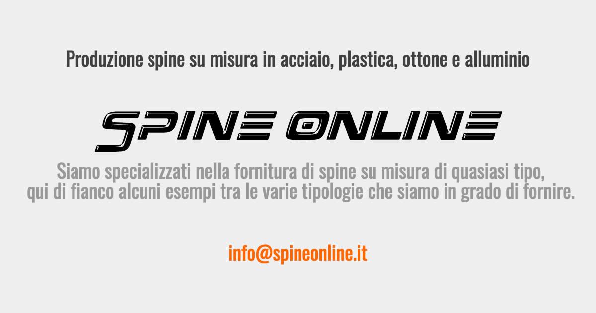 Spine Online: Fornitura e produzione spine in ottone su misura Aosta